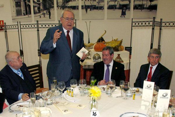 De izquierda a derecha: Antonio Guadamuro, Pedro Aparicio, Andrés García Maldonado yEnrique Cibantos