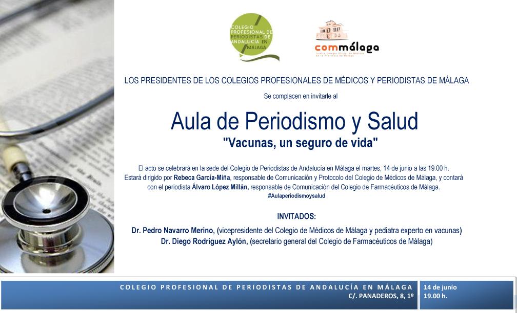 invitacion Aula Periodismo y Salud