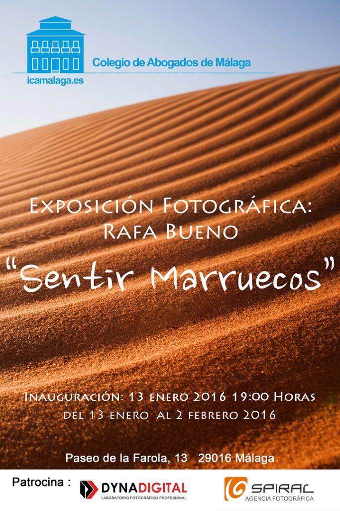 Cartel Exposición Rafa Bueno