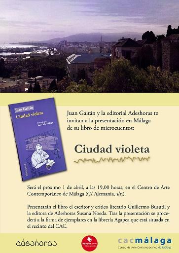 invitacion ciudad violeta malaga