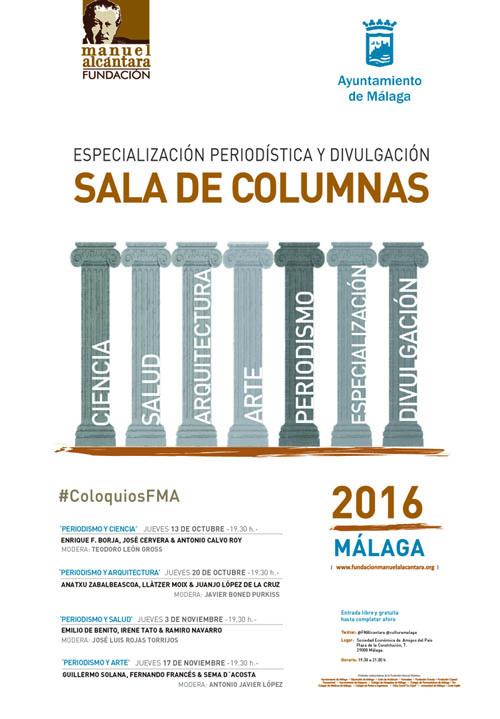 Sala Columnas 2016 Cartel 1