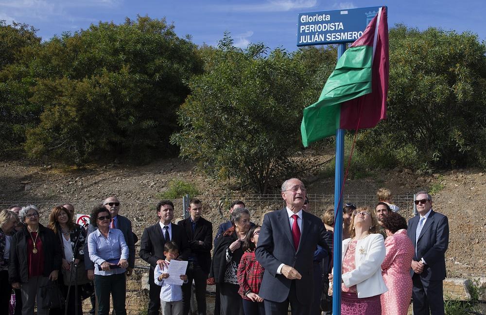 inauguracion glorieta julian sesmero