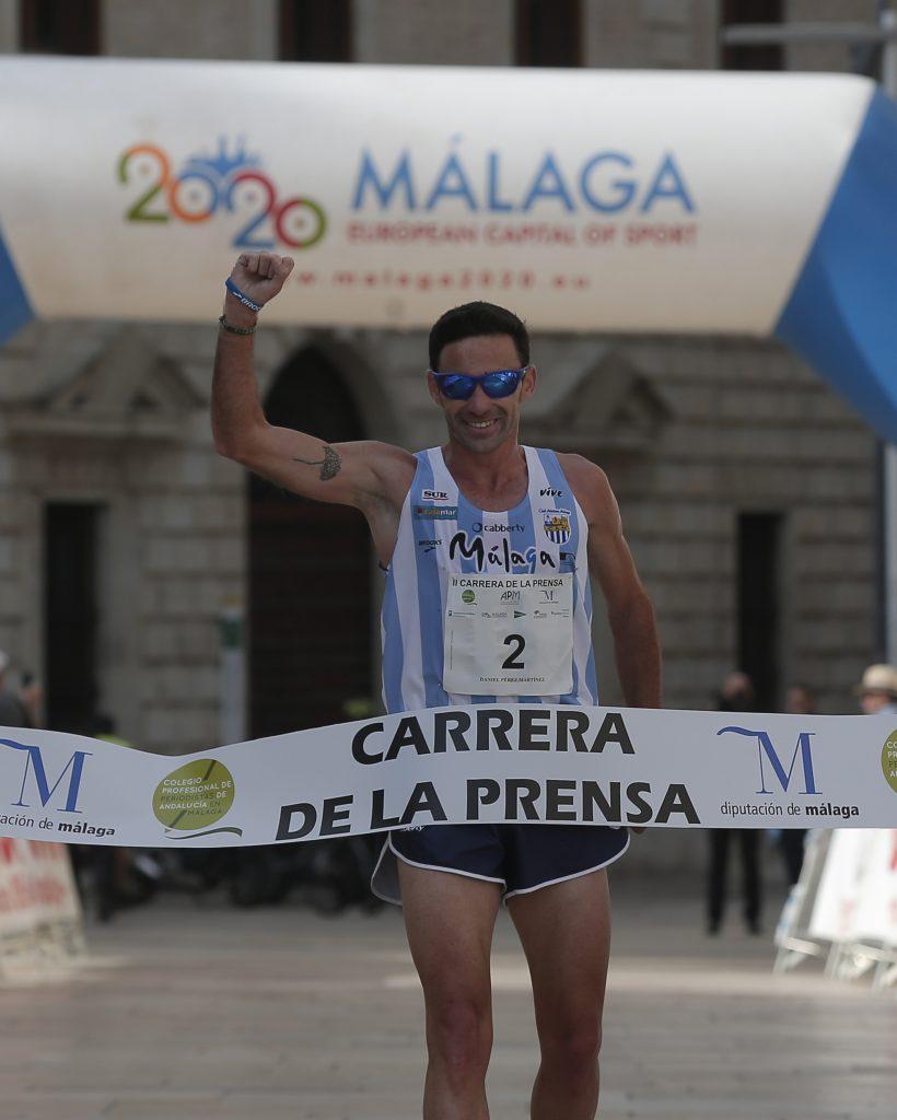 Daniel Pérez ganador II CARRERA DE LA PRENSA