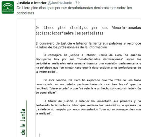 Emilio DE Llera Disculpas-459x445