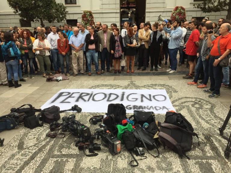 Granada hoy Concentracion