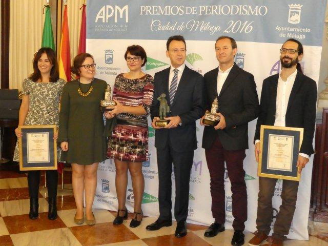 Premiados Ciudad de Málaga 2016