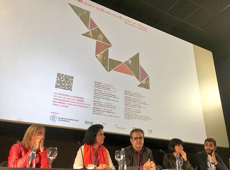 muestra audiovisual andaluz málaga presentación