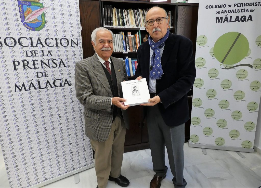 FOTO Cánovas periodista