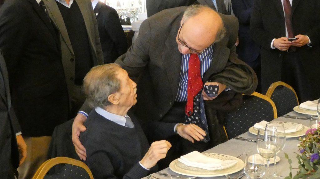Manuel Alcántara y Rafael Salas
