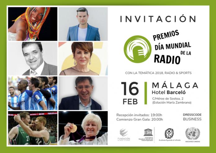 Invitación Premios Radio