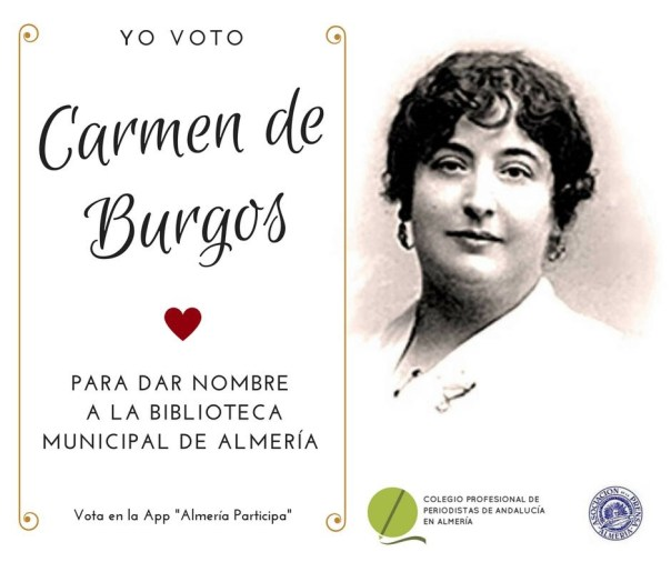 Carmen de Burgos Biblioteca