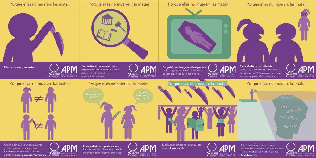 CAMPAÑA 25N. Asamblea de Mujeres Periodistas de la APM