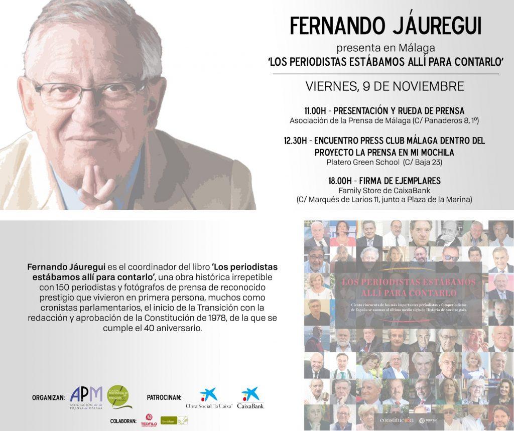 INVITACIÓN. Fernando Jáuregui WEB