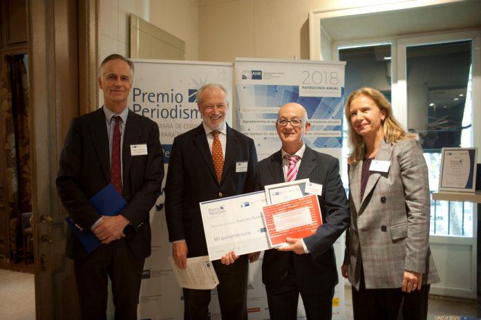 1 Premio Periodismo AHK- Francisco Gutierrez