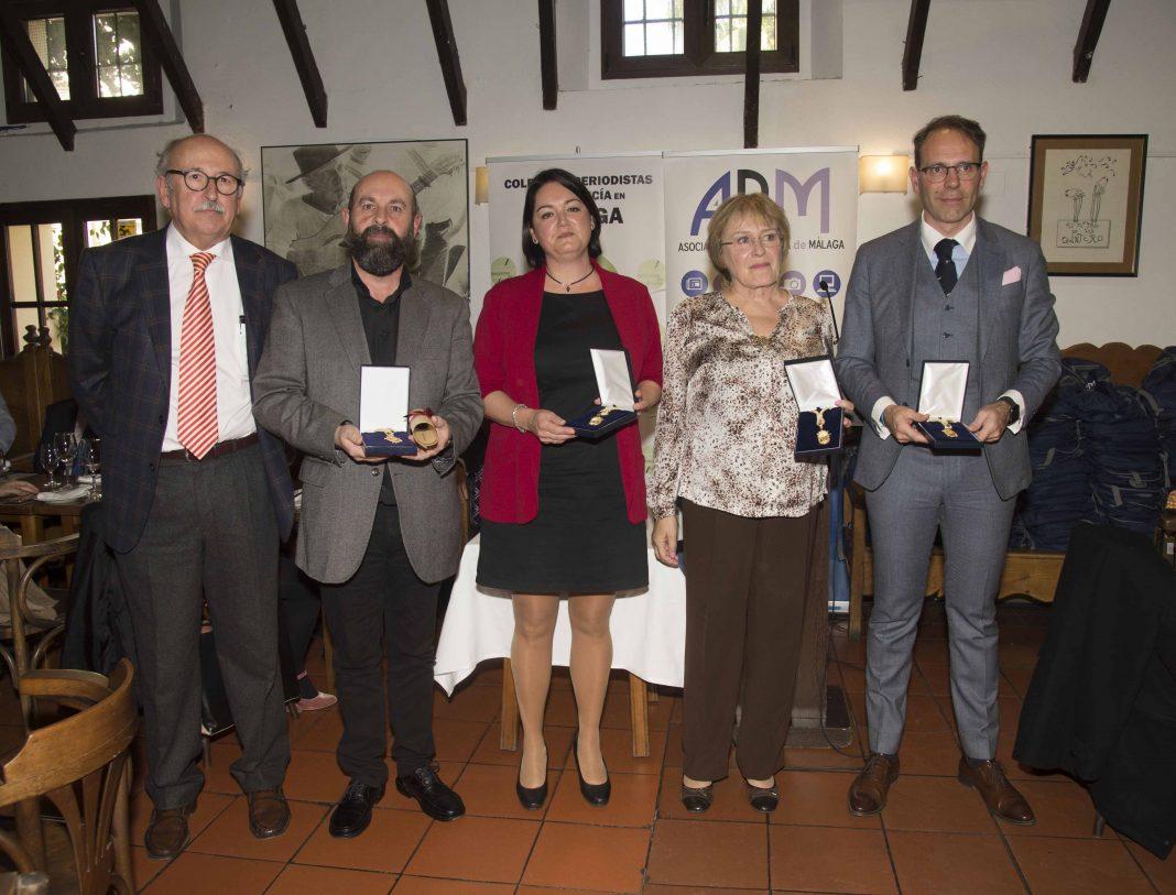 Medallas de Honor del Periodista 2019 de la APM baja