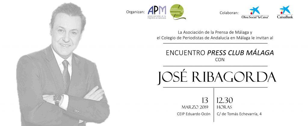 INVITACIÓN JOSÉ RIBAGORDA