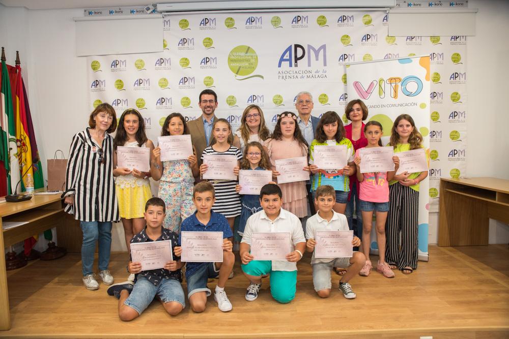 Foto 2. II Concurso de Prensa Escolar en Málaga