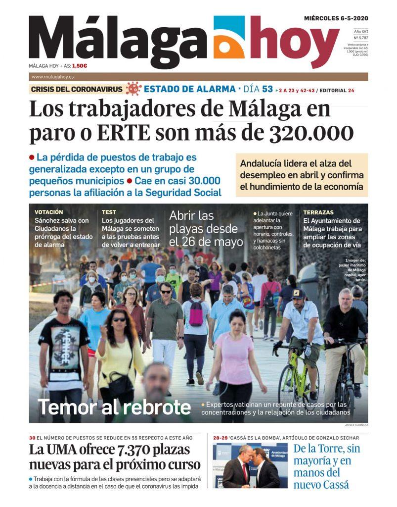 Málaga Hoy, 06/05/2020