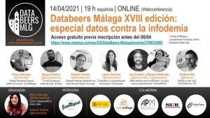 14 ABRIL | Nuestra Aula de Periodismo y Salud colabora con el próximo Databeers Málaga sobre desinformación