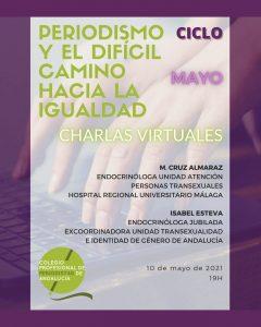 10 MAYO|  Próxima charla de 'Periodismo y el difícil camino hacia igualdad' del CPPA
