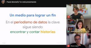 """Paula Montañà: """"El periodismo de datos permite encontrar historias con un enfoque fresco y original"""""""