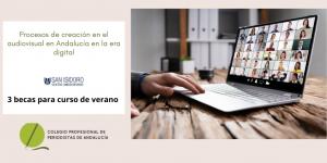 El Colegio de Periodistas de Andalucía oferta 3 becas para poder asistir a un curso de verano