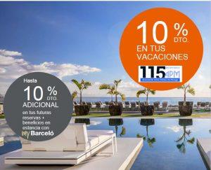 10% de descuento en los hoteles de Barceló Hotel Group
