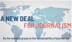 RSF: El Foro sobre Información y Democracia demanda «un nuevo pacto por el periodismo»