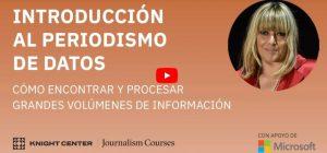 Introducción al periodismo de datos: Cómo encontrar y procesar grandes volúmenes de información