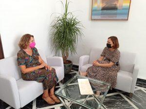 Encuentro de Elena Blanco y Patricia Navarro para futuras colaboraciones